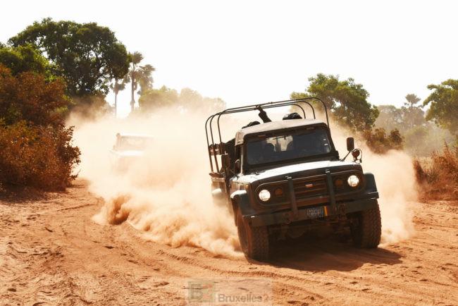 Au bord du fleuve Niger : attention conduite difficile