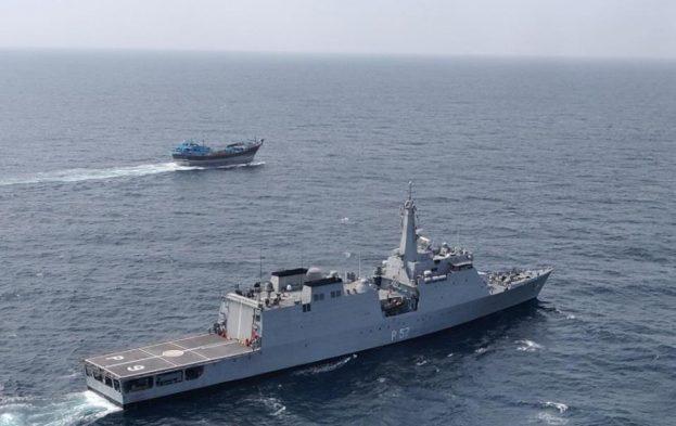 Un bâtiment indien escorte un navire du Programme Alimentaire Mondial