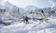 Opération neige en Allemagne et en Autriche