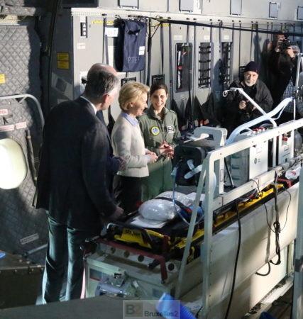 Première évacuation médicale pour un A400M allemand