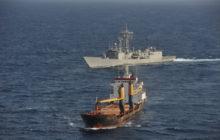 La frégate Navarra dans l'opération anti-piraterie de l'UE