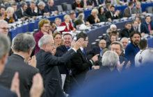 Les adieux de Alain Lamassoure au Parlement européen