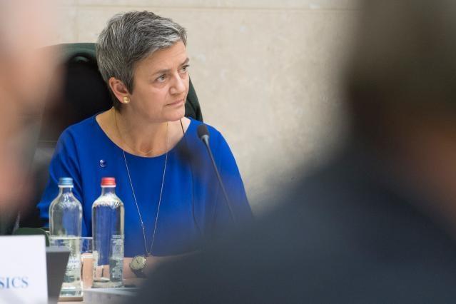 La fin du rêve Vestager à la tête de la Commission 2019 ?