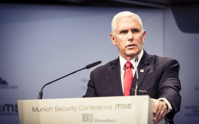 A Münich le nom de Donald Trump suscite un grand blanc