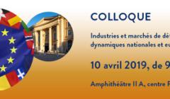 Une conférence sur les industries et marchés de défense