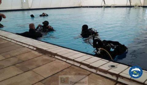 Les garde-côtes et marins libyens formés en plongée