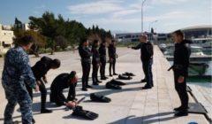 La fin de la plongée croate pour les garde-côtes libyens