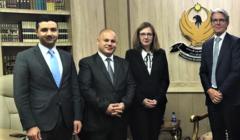 EUAM Iraq en visite à Erbil pour évoquer une coopération avec le Kurdistan irakien