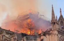 Notre Dame de Paris en feu. Les réactions affluent d'Europe et d'ailleurs