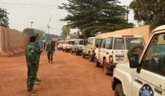 Centrafrique. Le premier détachement vers Bouar part