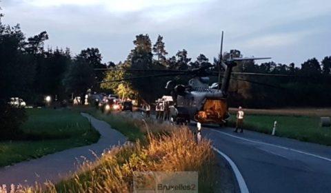 Crash de deux Eurofighter dans la région des lacs du Mecklembourg