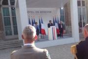 Agir ensemble, le mot clé d'Emmanuel Macron. Un triptyque pour l'Europe de la défense