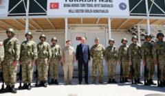 Le président turc Erdogan au camp Butmir d'EUFOR Althea