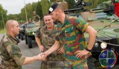 Le premier exercice 'CaMo' en Belgique a commencé