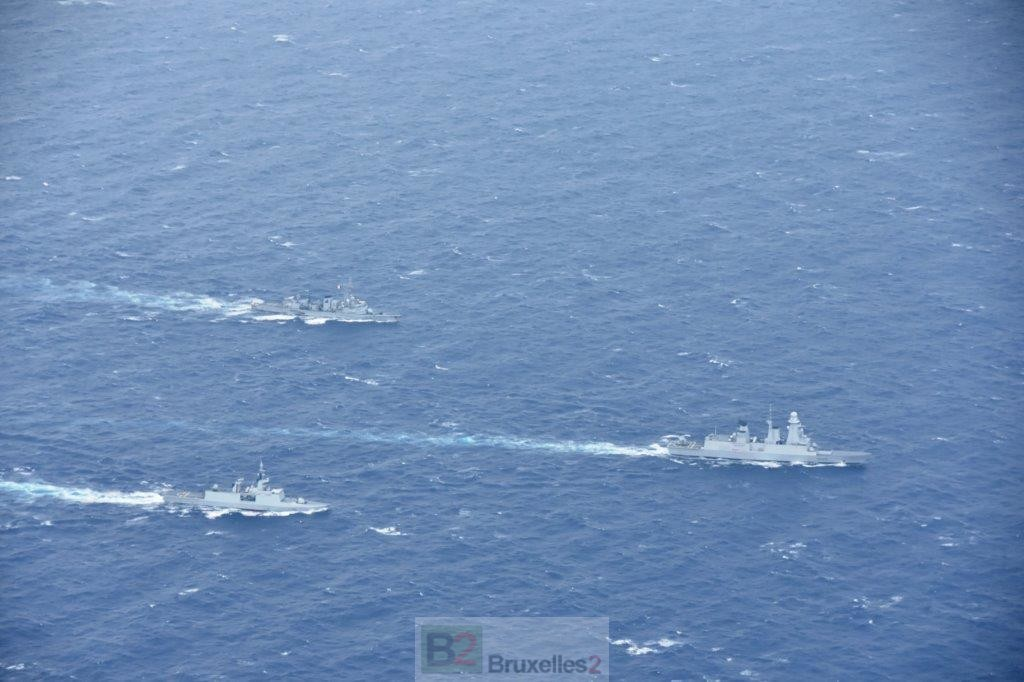 MEDOR. Trois navires et deux avions français pour surveiller du coin de l'œil la Turquie - B2 Le blog de l'Europe géopolitique