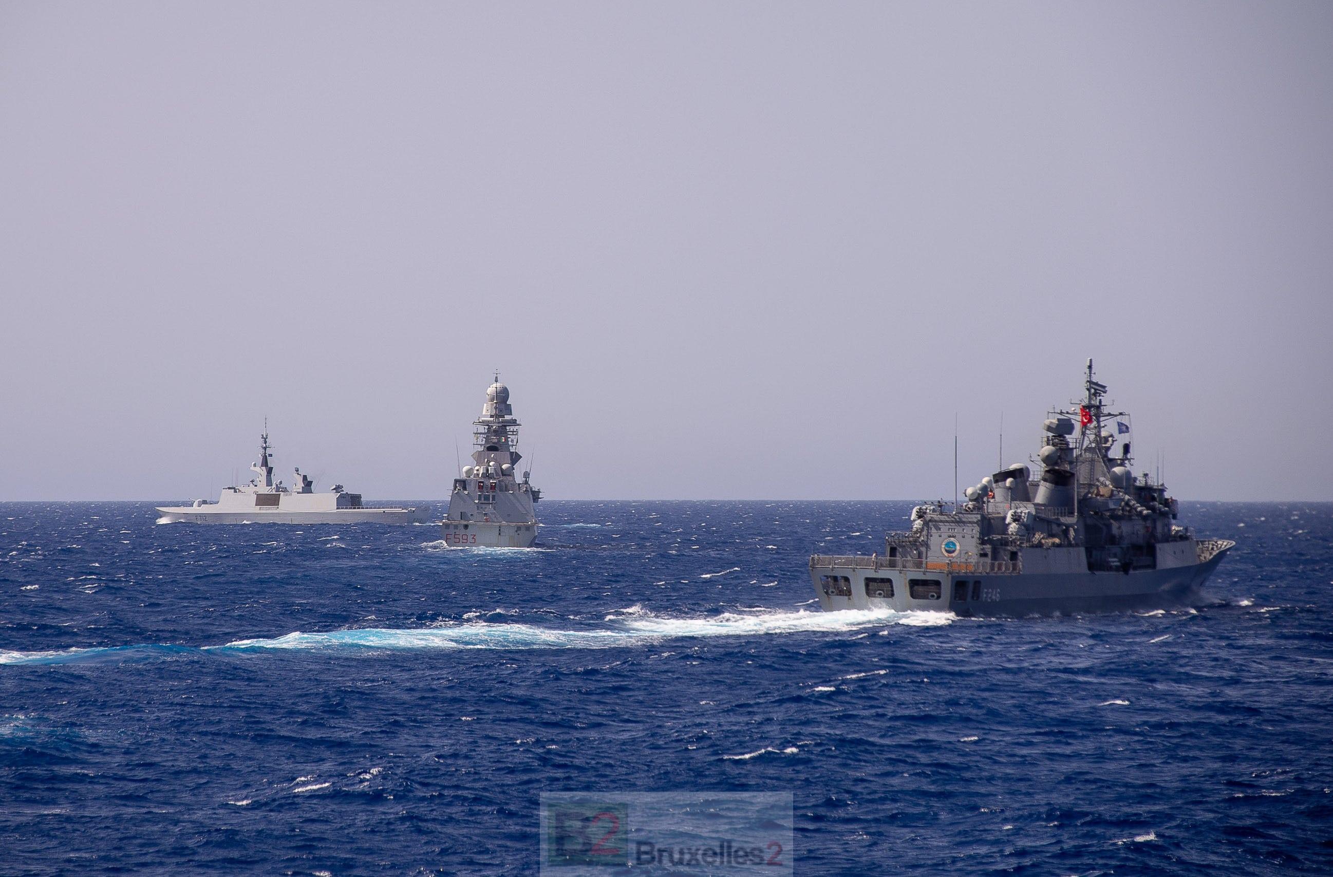 Turquie-France. L'incident du Courbet est dépassé. L'OTAN essaie d'oublier - B2 Le blog de l'Europe géopolitique
