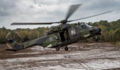 Une bonne partie des hélicoptères NH90 de l'armée allemande cloués au sol