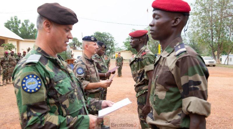 Les missions militaires de la PSDC continuent, mais à bas régime (v3)