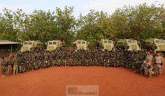 La compagnie motorisée malienne formée aux Casspir