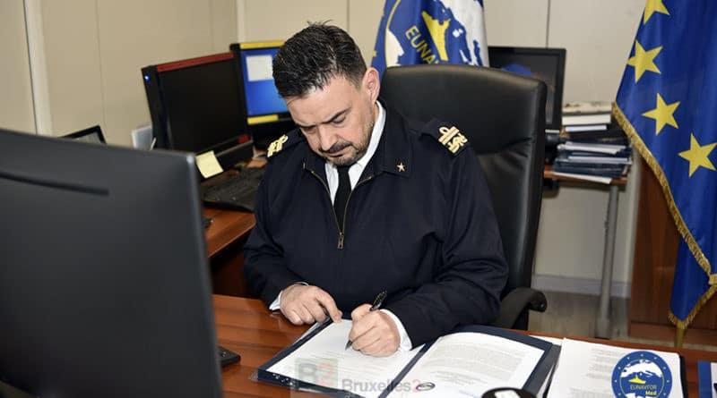 Irini signature accord UNODC