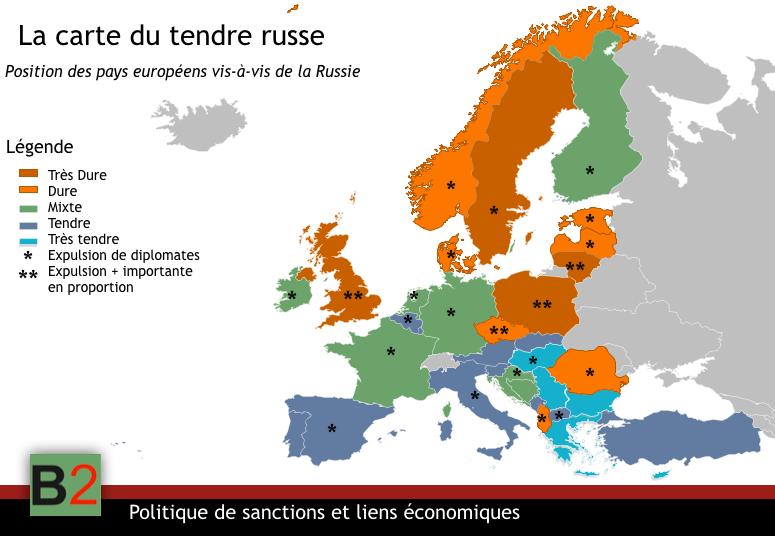 La carte du tendre russe - B2 Le blog de l'Europe politique