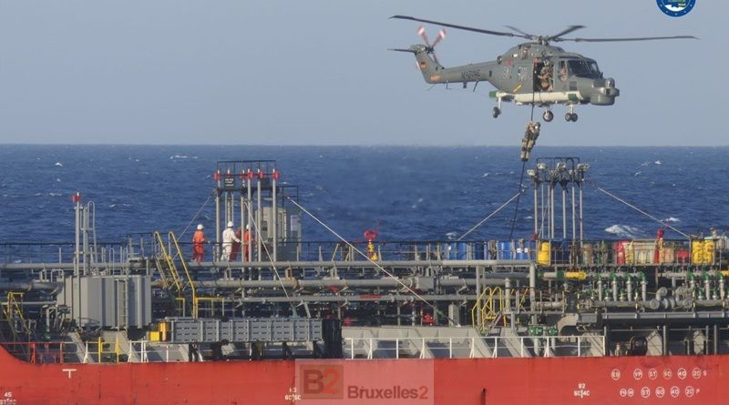 Ship suspected of violating arms embargo to Libya intercepted by Operation Irini