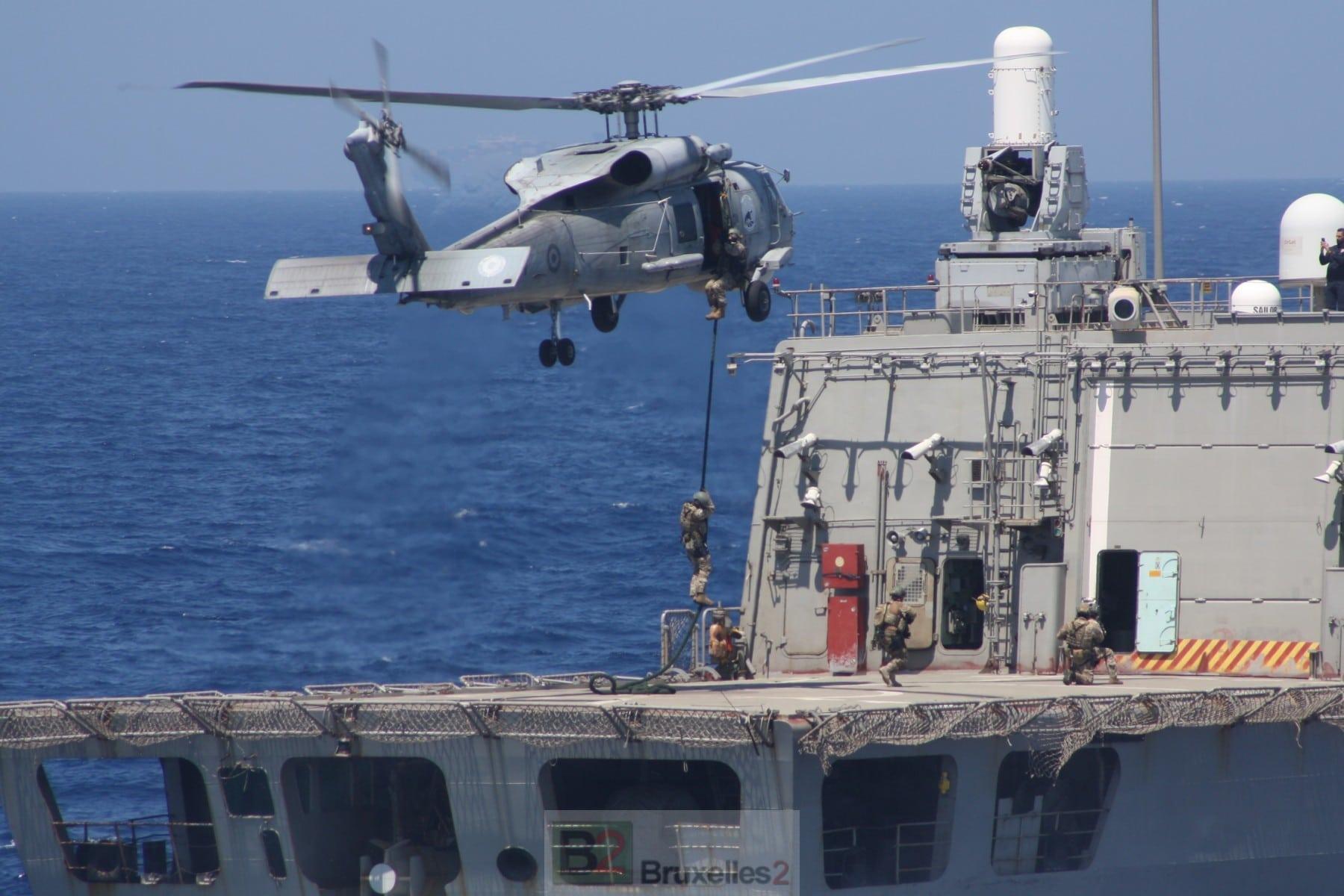 Grèce, France et Italie manœuvrent de concert en Méditerranée. Face à la Turquie - B2 Le blog de l'Europe politique