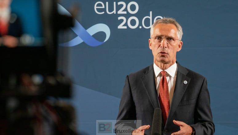 Non, l'OTAN ne militarise pas ses frontières avec la Biélorussie, assure Jens Stoltenberg - B2 Le blog de l'Europe politique